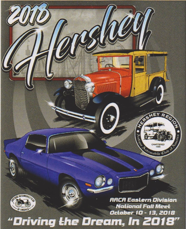 Hershey Car Show >> Hershey Region AACA: Fall Meet