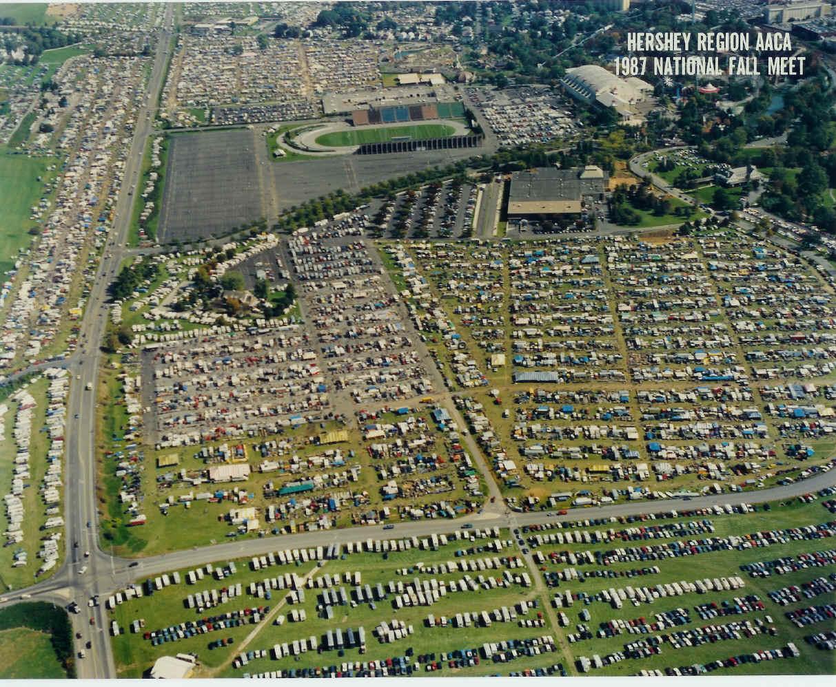 Hershey Car Show 2018 >> Hershey Region AACA: Fall Meet Maps & Information