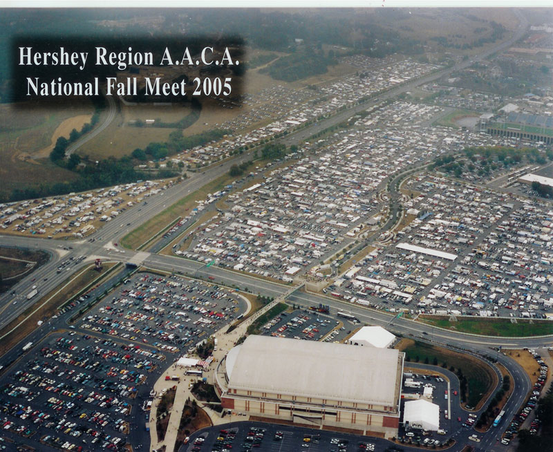 Hershey 2018 Car Show >> Hershey Region AACA: Fall Meet Maps & Information