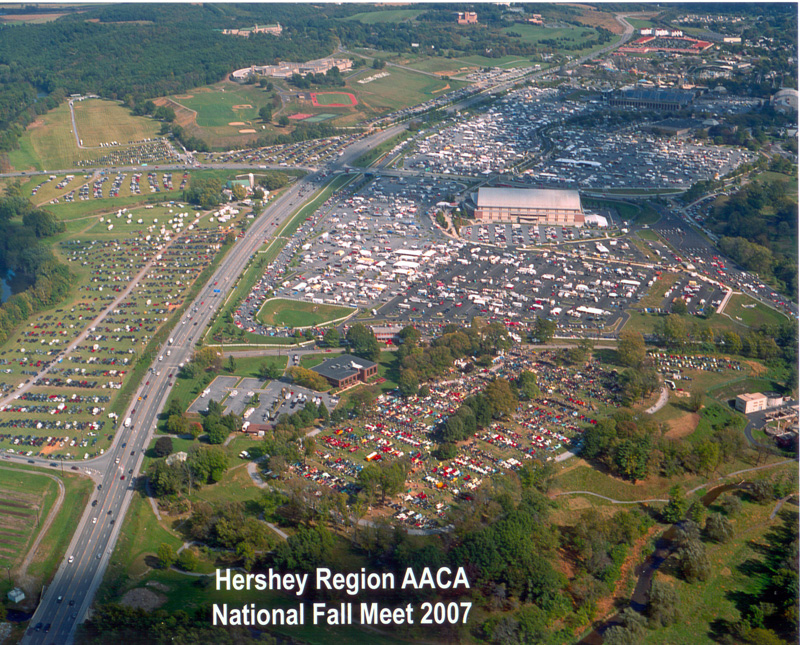 Hershey Region AACA Fall Meet Maps Information - Antique car show hershey pa 2018